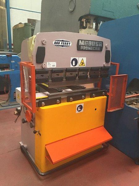 Plegadora hidráulica Mebusa de 1.200x25t