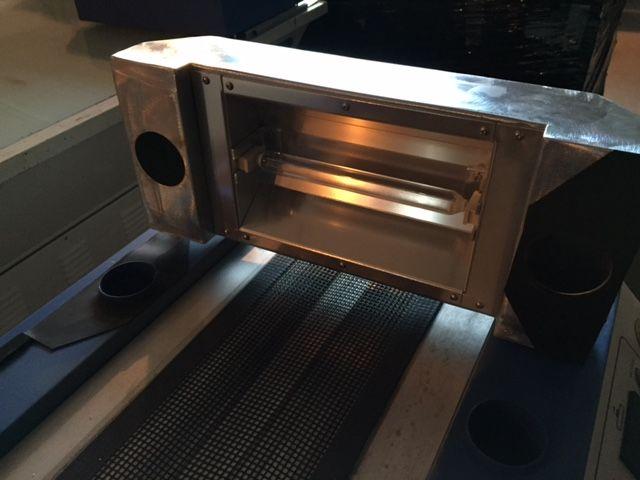 Horno UV para laboratorio