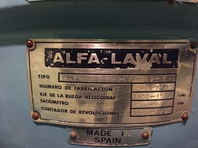 Centrifuga alfa laval MAB205S