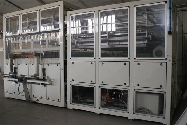 Máquina de termoformado por vacío HAMER mod. MP 2.000 x 2.500.