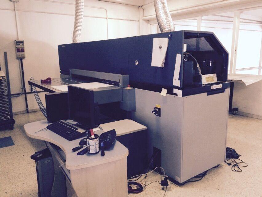 Impresora UV plana de inyección de tinta