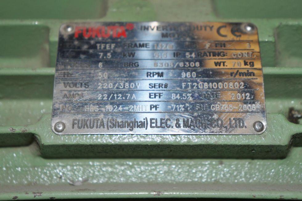 Motor eléctrico 7,5 kW