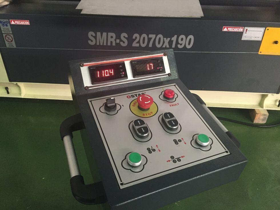 Cilindro asimétrico de 3 rodillos