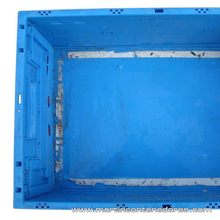 Caja plástica plegable