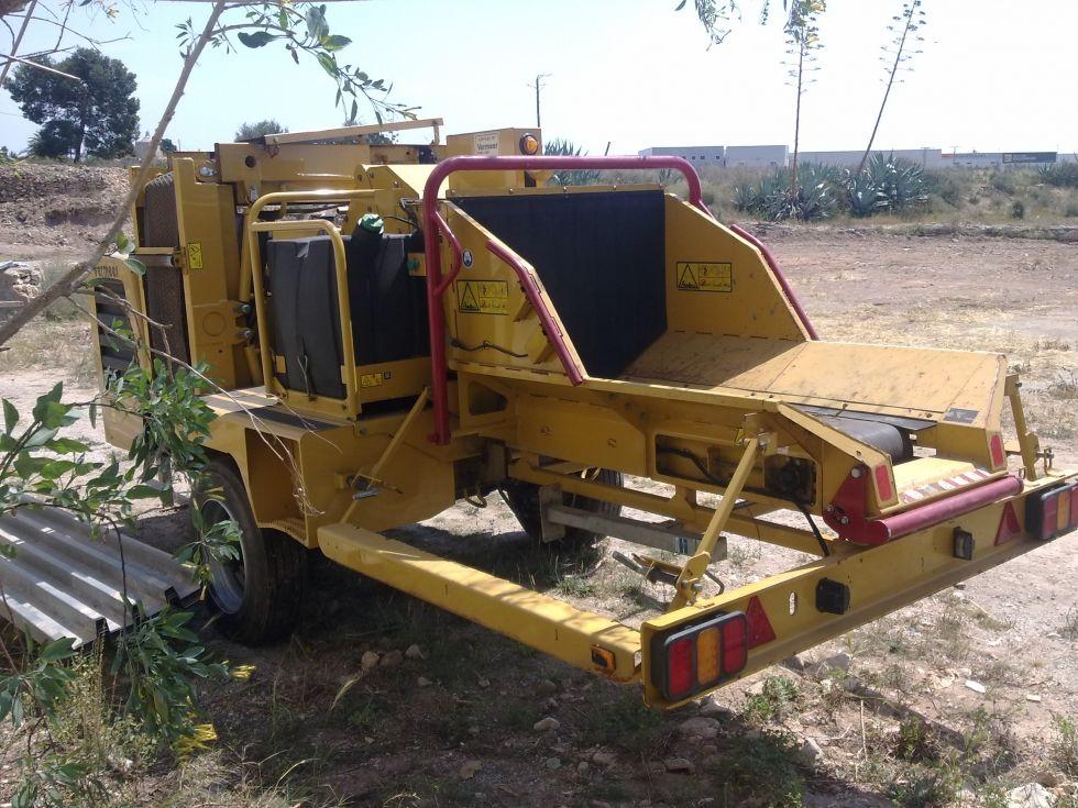 Trituradora Astilladora