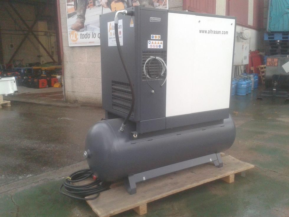 Compresor eléctrico rotativo
