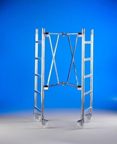 Alquiler andamio aluminio altura 5,90mts