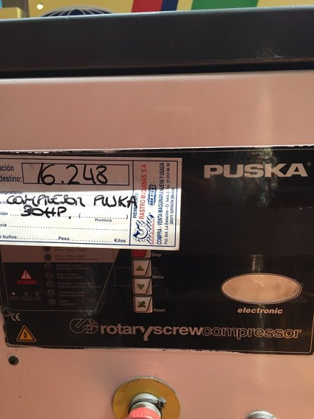 Compresor Puskas 30hp RT-20