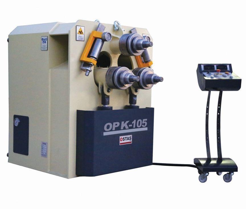 Curvadora de 3 rodillos motrices hidráulica para perfiles de hierro y tubos