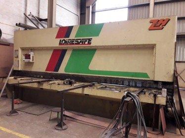 Cizalla hidráulica Loire CHP-136 de 6.000x13mm