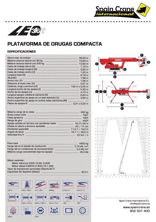 Plataforma Leo 36T