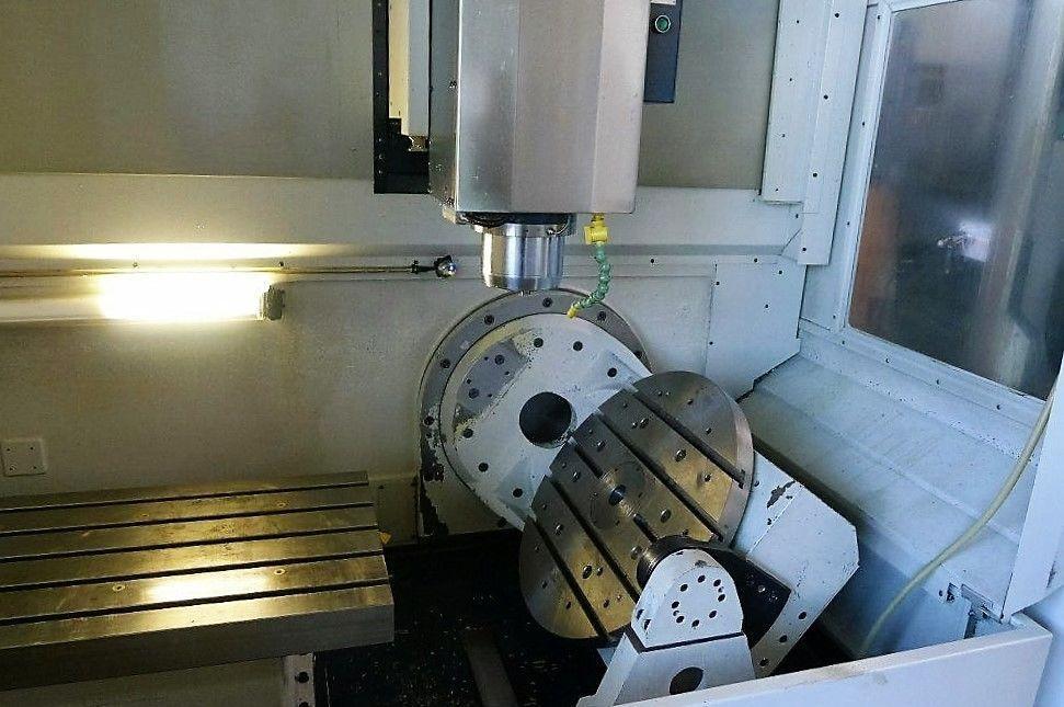 Centro mecanizado 5 ejes