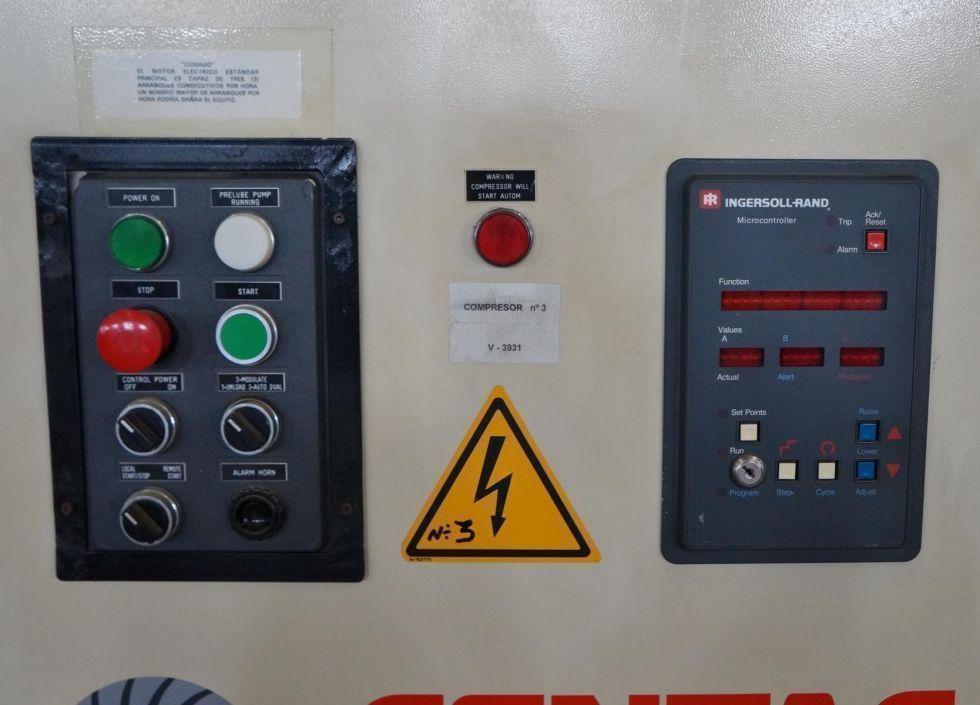 Compresor exento de aceite