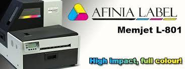 Impresora digital etiquetas Afinia Label L-801