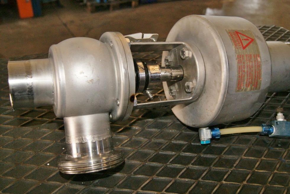 Valvula de accionamiento neumatico DN50