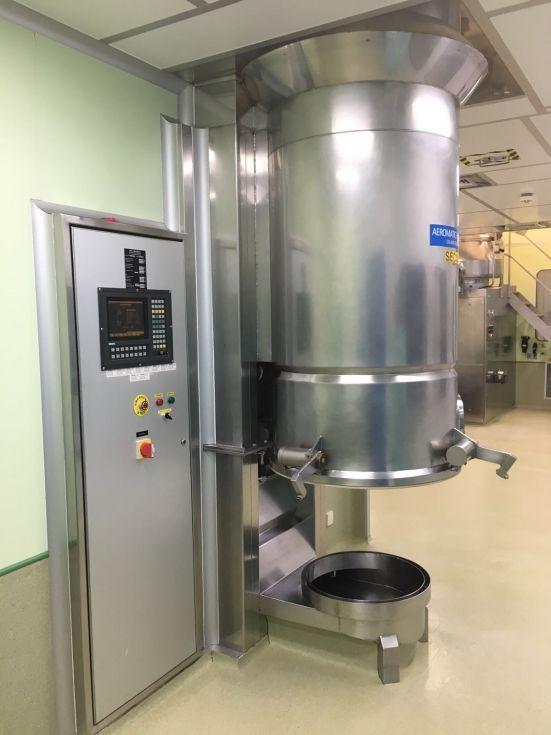 Secador lecho fluido niro aeromatic t-4 de segunda mano