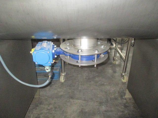 Mezcladora de bandas en acero inoxidable con capacidad 500 litros