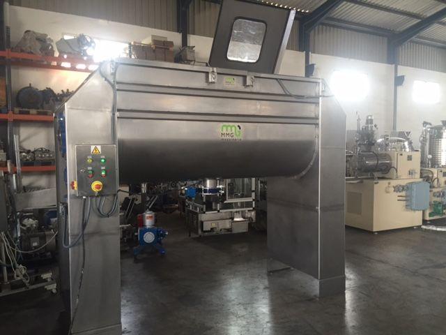 Mezcladora de bandas en acero inoxidable con capacidad de 2.000 litros