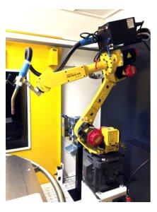 Célula de soldadura con robot FANUC i-Weld EASY