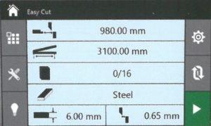 Cizalla hidráulica de corte basculante CNC HGS