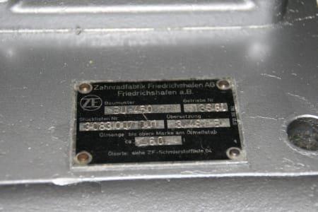 Caja inversora para barcos ZF