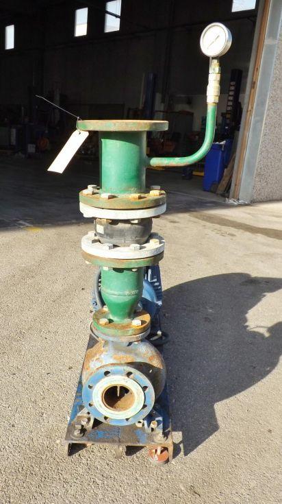 Bomba centrífuga fabricada en hierro