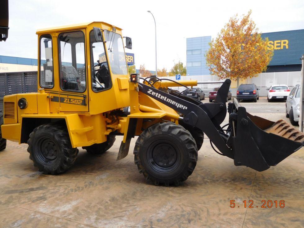 Palas cargadoras ruedas