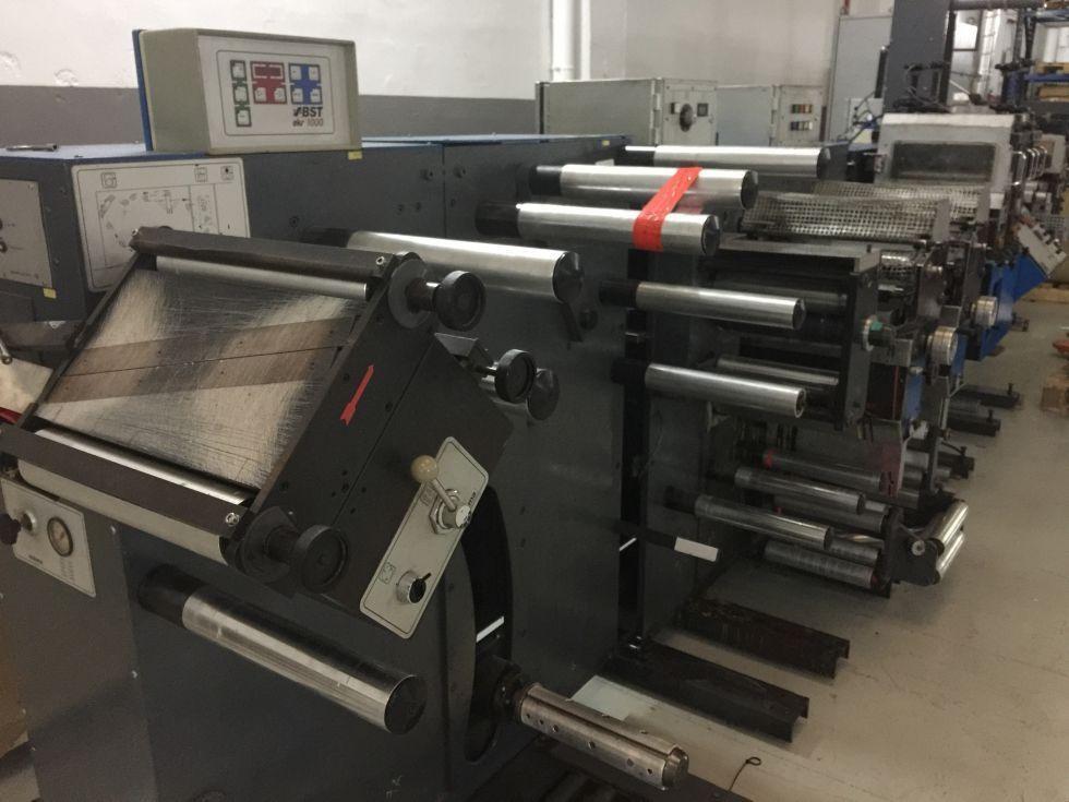 máquina de impresión Flexo al agua