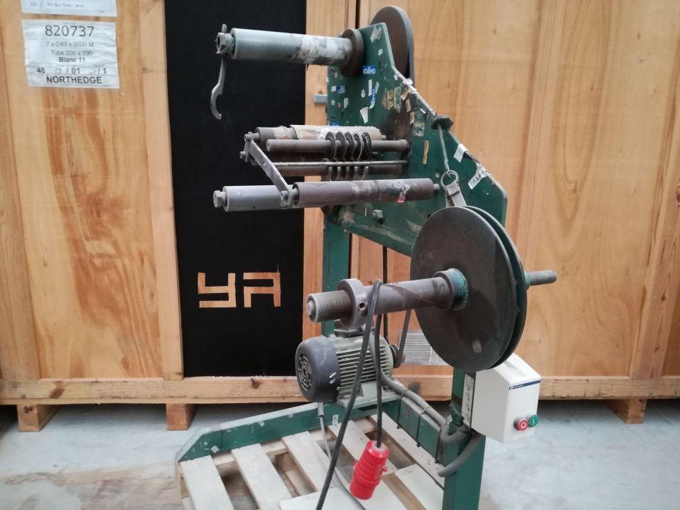 Rebobinador cortador