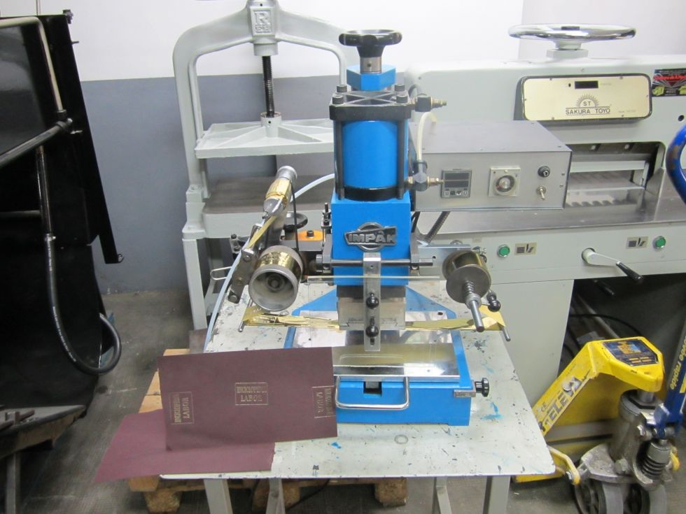 prensa de termoimpresion