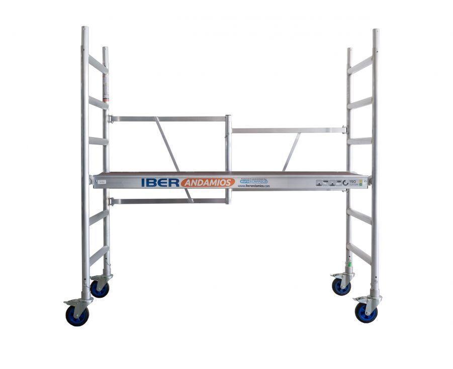 Andamio plegable en aluminio CT26 con plataforma