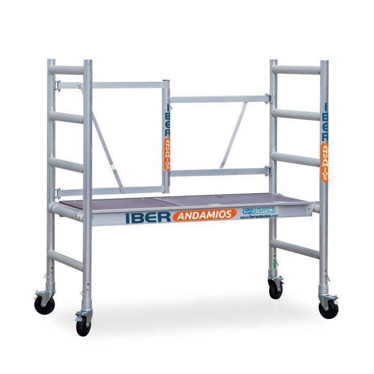 Andamio plegable aluminio COMPACT IBERANDAMIOS