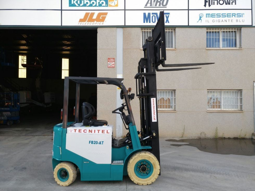 Carretilla eléctrica 2000 kg