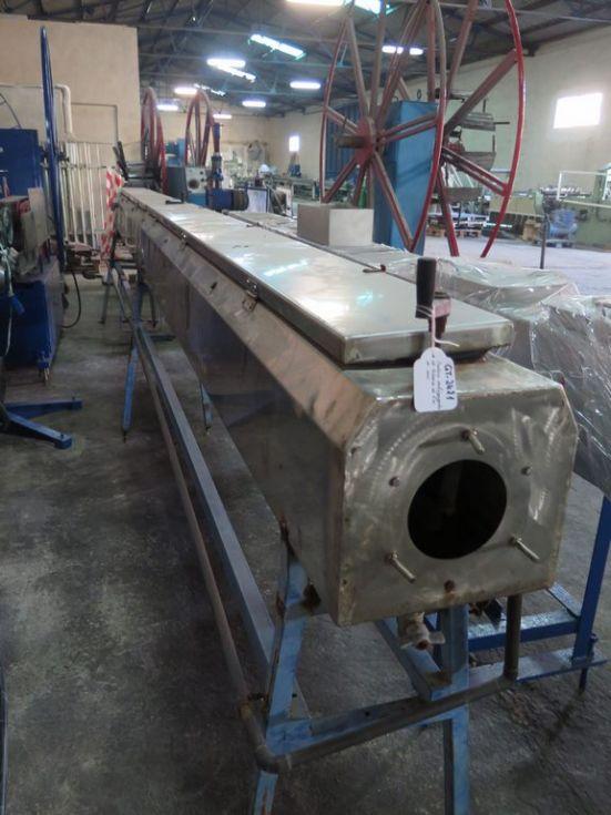 GT-2421 Bañera de enfriamiento de tubería de 6 metros de acero inoxidable.
