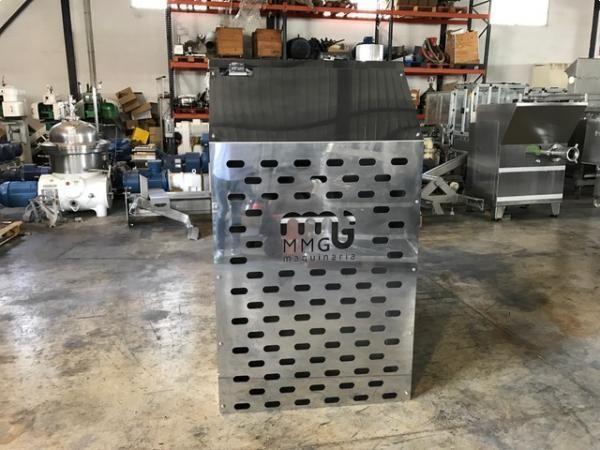 Nueva mezcladora de bandas en acero inoxidable 316 de 2.000 litros ATEX