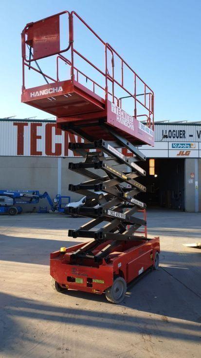 Plataforma de tijera eléctrica 14 mts