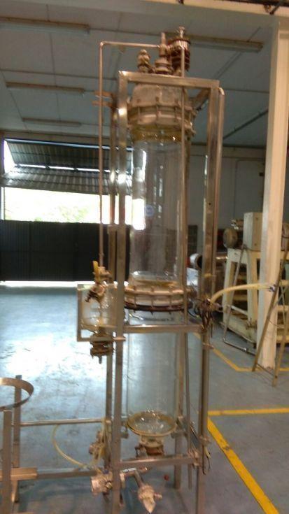 Columna vidrio borosilicato 3.3
