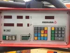 Plegadora hidráulica Mebusa PH-4020 de 2.000x40t con CNC a 2 ejes