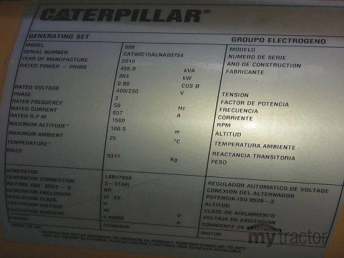 Caterpillar C15 LNA00754 2012