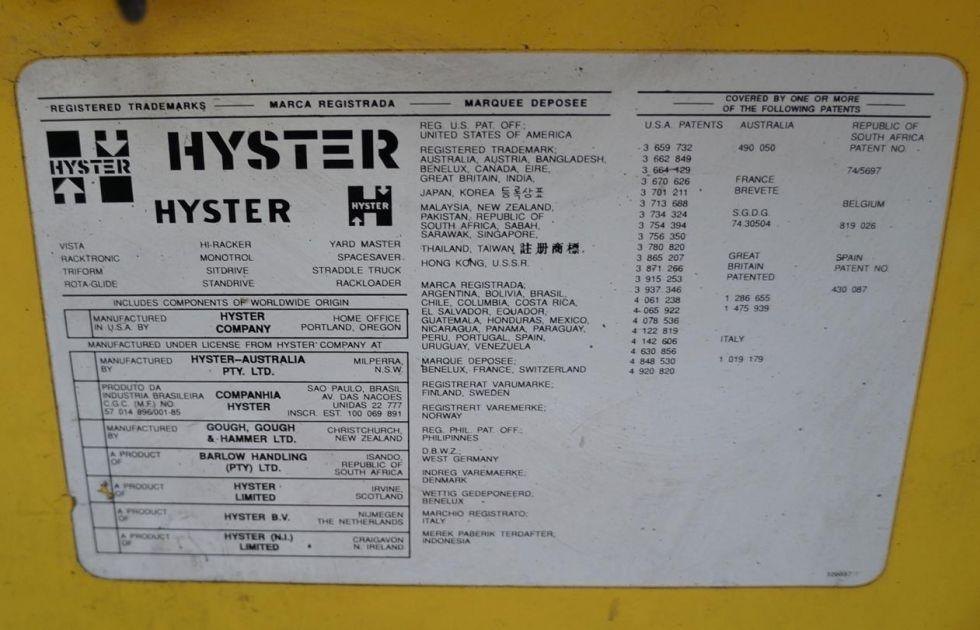 Carretilla eléctrica Hyster