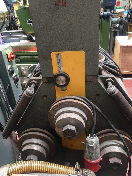 Curvadora de perfiles 3C Arcall CR125H con mucho utillaje para aluminio
