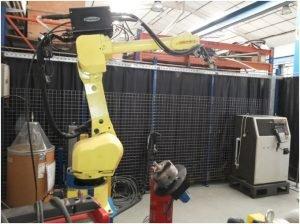 Robot de soldadura FANUC TIG 120iB/10L
