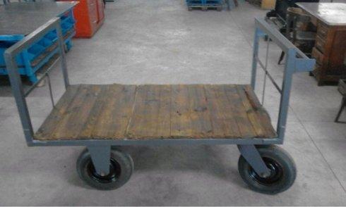 Carro industrial de plataforma