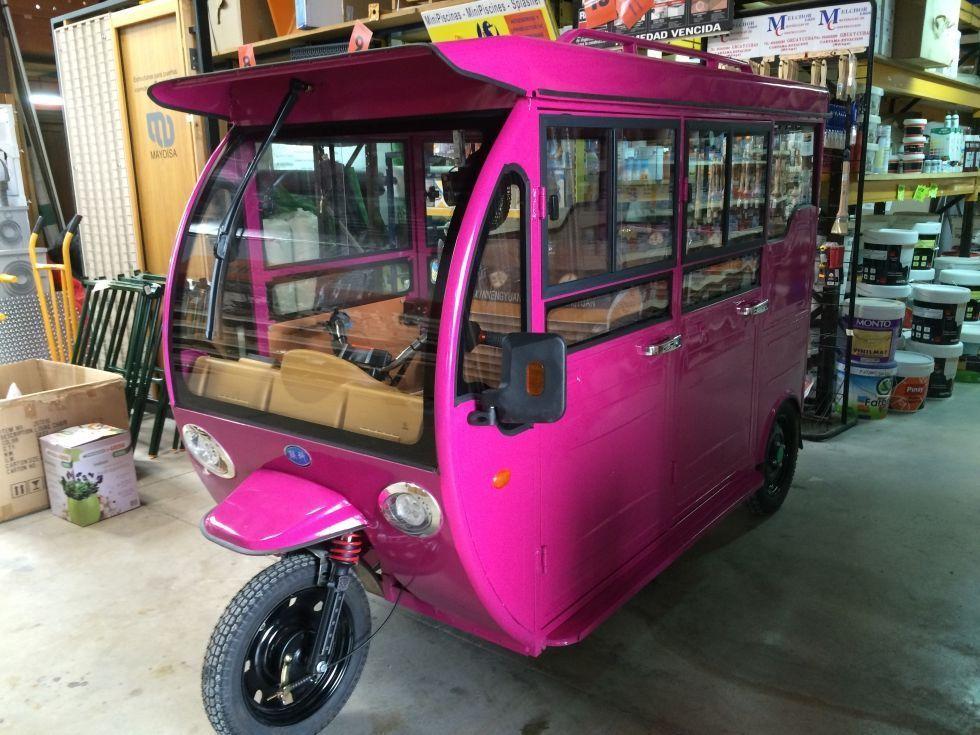 Triciclo TUKTUK Electrico