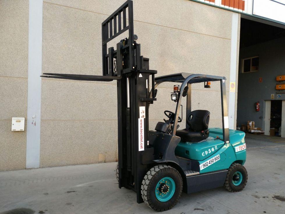 Carretilla industrial, 2500kg