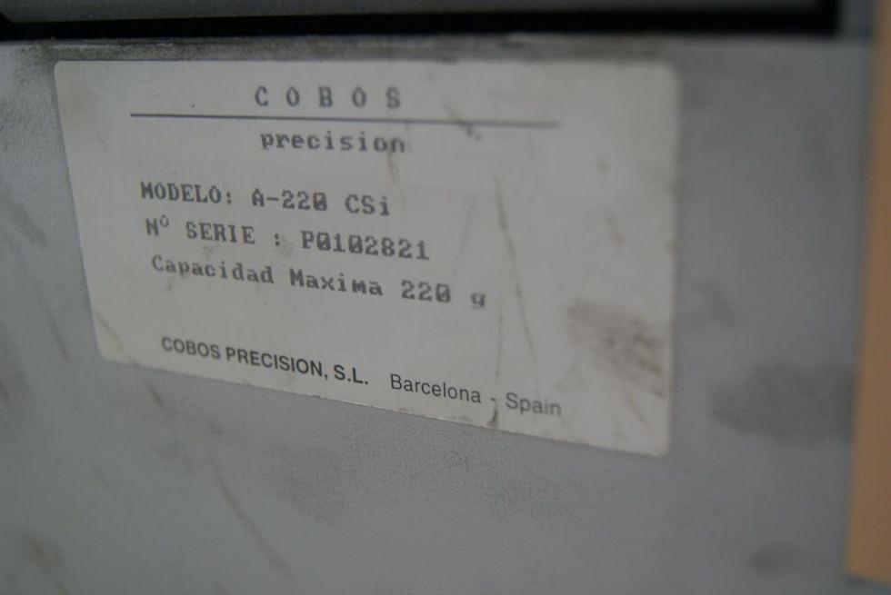 Bascula de laboratorio