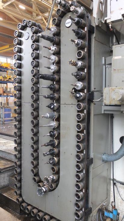 - Fresadora de puente doble mesa ZAYER KPCU 6000 AR DT