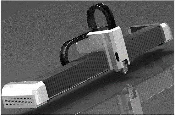 Máquina de corte por láser de fibra optica de 4 KW