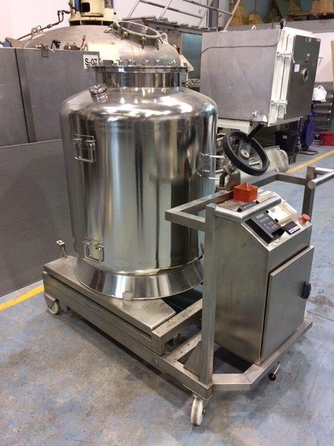 Deposito 500 litros inox 316 con agitacion magnetica de segunda mano