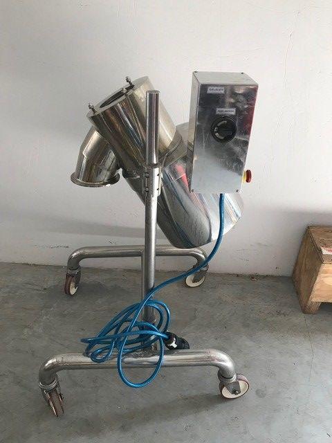 Tamizadora glatt labortecnic tr-100 de segunda mano